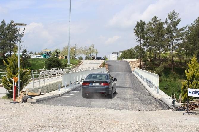 Üniversitenin İkinci Köprüsü Faaliyete Geçti