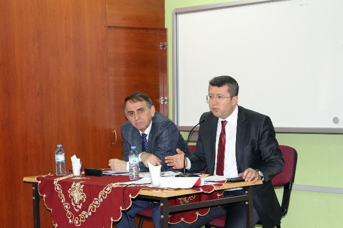 Ağrı'da Lise Müdürleri Toplantısı