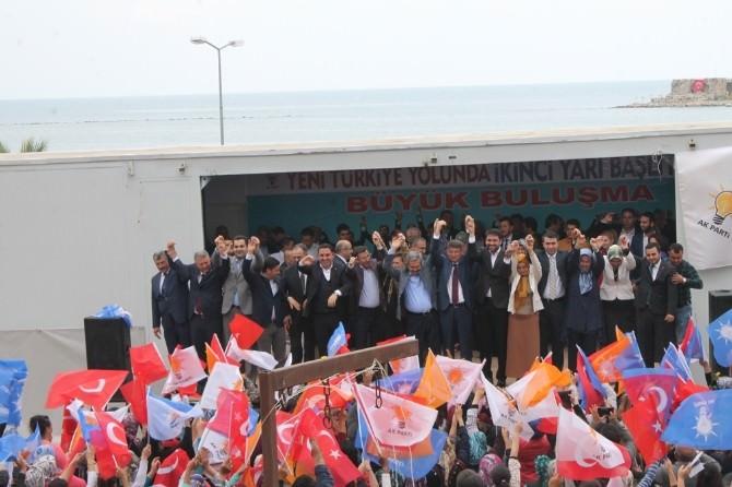 AK Parti Milletvekili Adaylarını Yumurtalık'ta Tanıttı