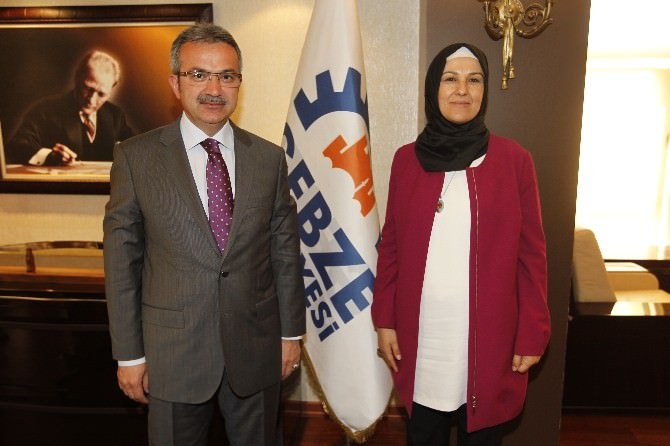 Milletvekili Adayı Katırcıoğlu'ndan Köşker'e Ziyaret
