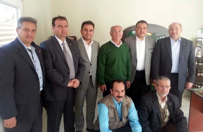 AK Parti'den Mustafa İça'ya Ziyaret