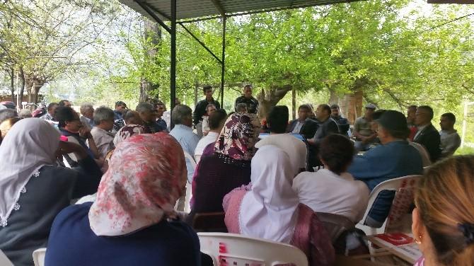 Anadolu Partisi Gökbel'de Köylülerle Görüştü