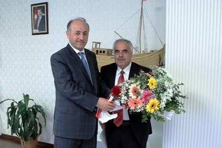 Bartın Müftüsü Gündüz'den Vali Azizoğlu'na Ziyaret