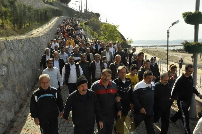 Darıca Da Kutlu Doğum Haftası Etkinlikleri Yürüyüş İle Sonlandı