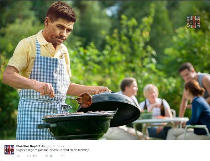 Gerrard'ı Yerden Yere Vurdular