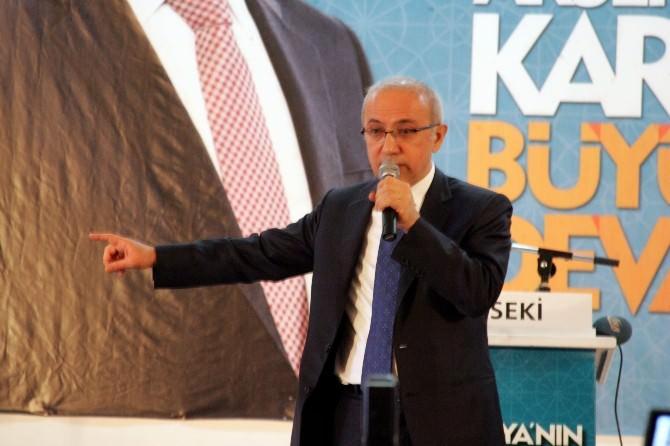 AK Parti Antalya Milletvekili Adayı Lütfi Elvan: