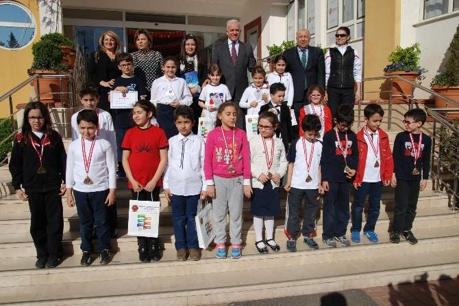 GKV Özel Okullarında Okuma, Resim Ve Spor Ödülleri Dağıtıldı