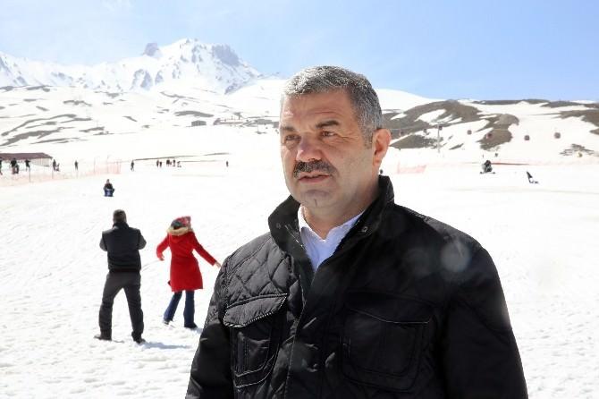 Başkan Çelik'in Erciyes Turu