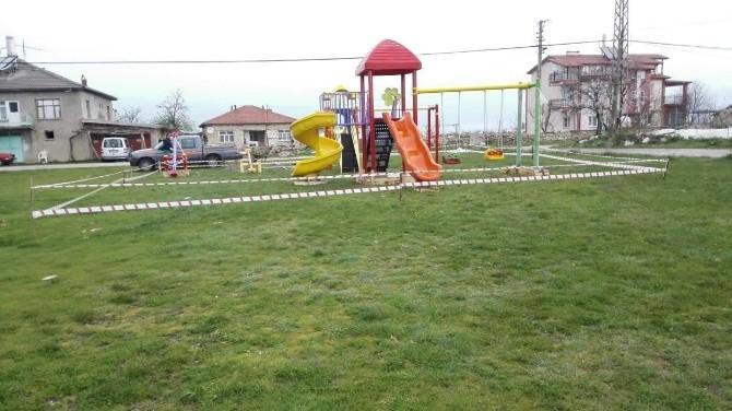 Beyşehir'de Parklar Donatılıyor
