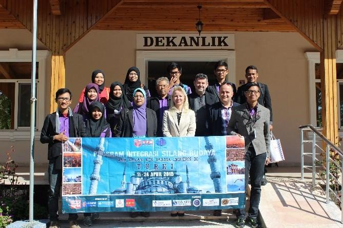 Malezya Putra Üniversitesi'nden SAÜ'ye Ziyaret