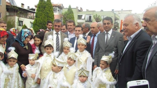 MHP'li Balkız'ın Soma Ziyareti