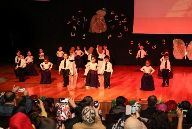 Şehitkamilli Minik Öğrencilerden Muhteşem Kutlu Doğum Gösterisi
