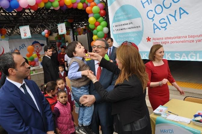 Şırnak'ta Çocuk Felci Aşı Kampanyası Başladı