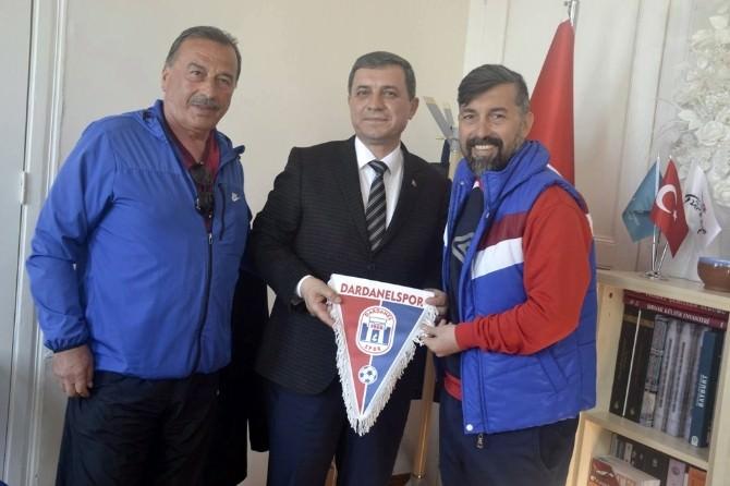 Dardanelspor'dan Turizm Müdürüne Ziyaret