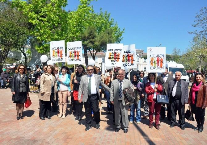 Tekirdağ'da '10. Avrupa Aşı Haftası' Etkinliği