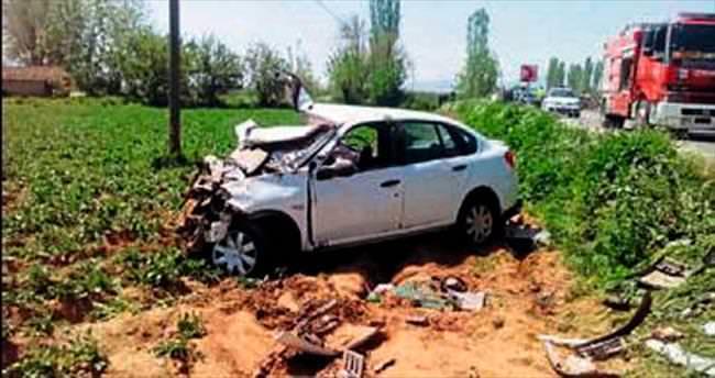 Ödemiş'te kaza: Bir ölü, beş kişi yaralı