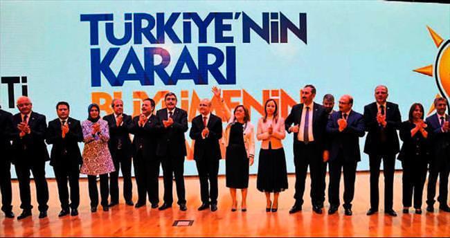 Gaziantep adayları görücüye çıktı