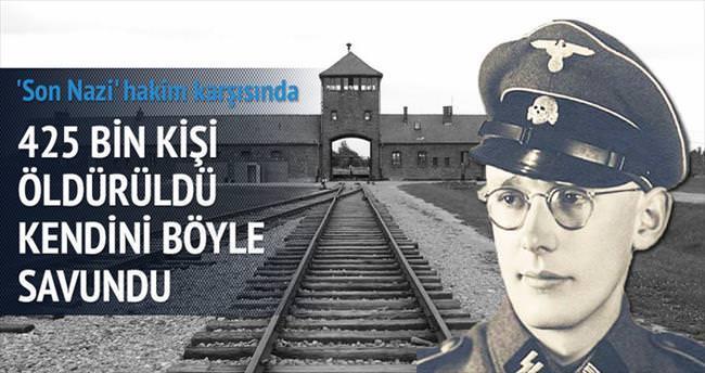 'Son Nazi' hâkim karşısında