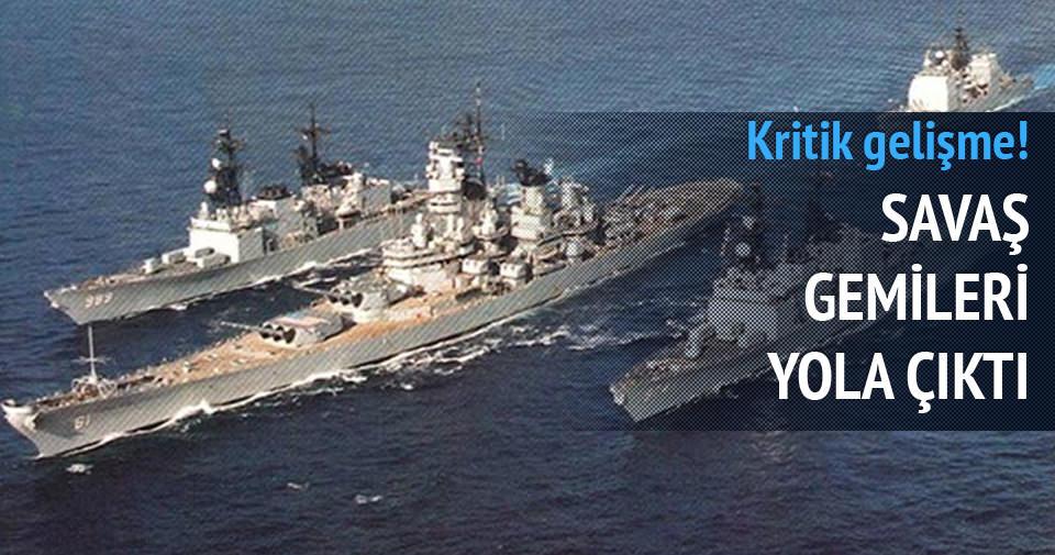 ABD savaş gemileri Yemen'e doğru yola çıktı