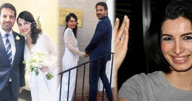 Evlilik Başak Sayan'a yaradı