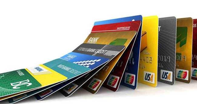 Kredi kartı sayısında rekor