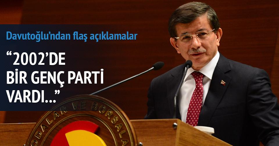 Davutoğlu: Kılıçdaroğlu'nda ergen psikolojisi var