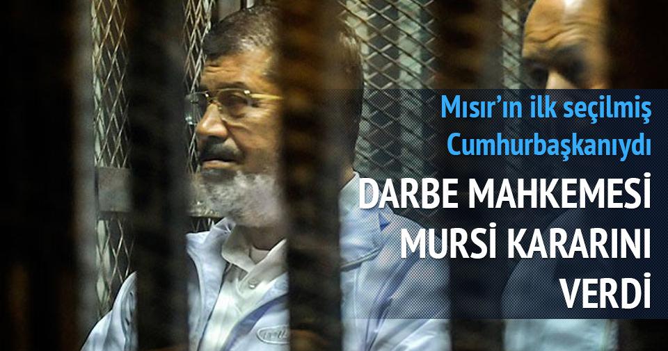 Mursi'ye 20 yıl hapis