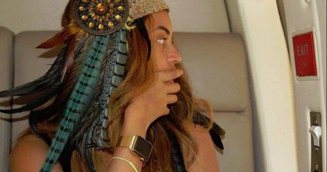 Beyonce daha piyasaya çıkmayan 'Apple Watch'ı kullanıyor
