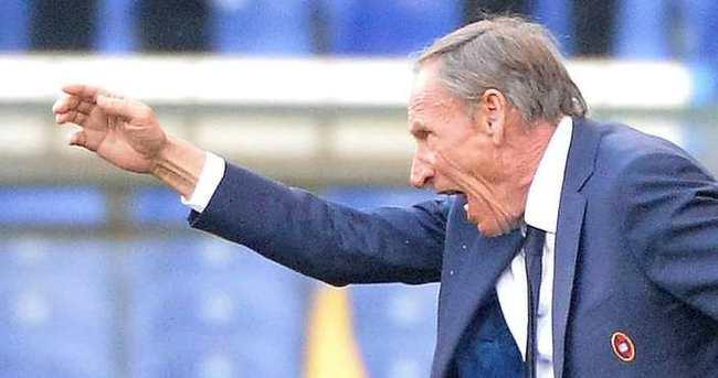 Zeman Cagliari'den ayrıldı