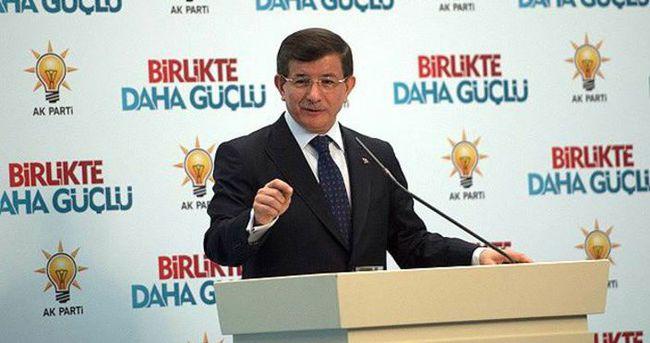 Davutoğlu: Kılıçdaroğlu'nu Melih Gökçek'e havale ediyorum