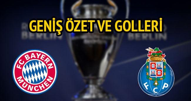 Bayern Münih — Porto golleri ve özeti (GENİŞ-ÖZET)