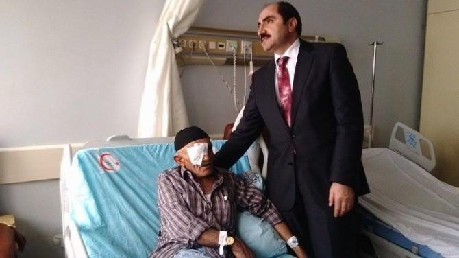 AK Parti Van İl Başkanı Zahir Soğanda'dan Hasta Ziyareti