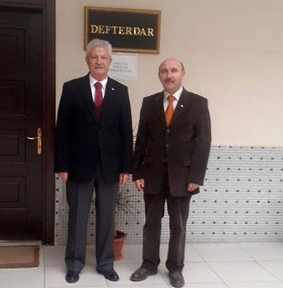 Eski Maliye Bakanı İsmet Attila Defterdar Kısa'yı Ziyaret Etti