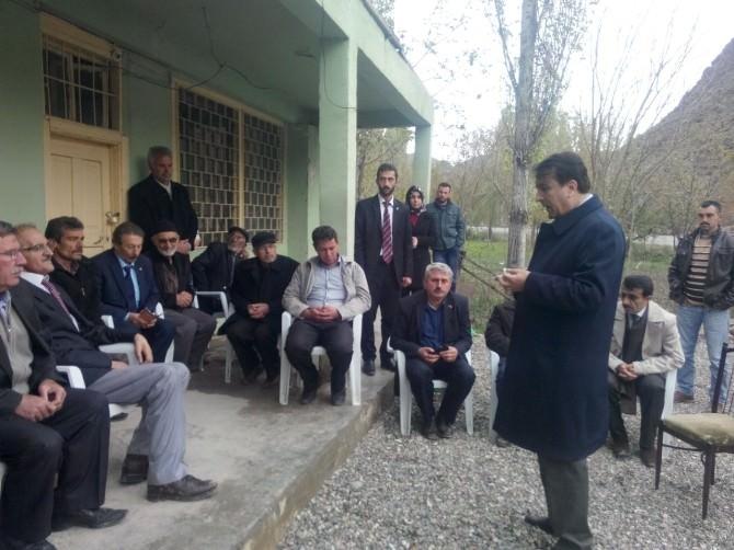 AK Parti Milletvekili Adayı Aydemir, Olur İlçesini Ziyaret Etti