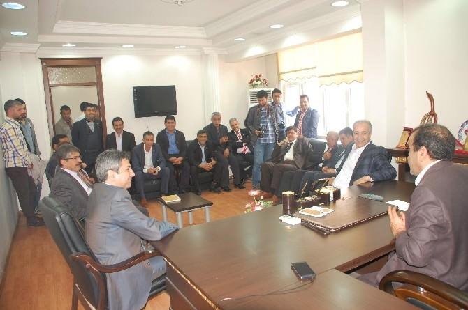 Aydın, Gazeteciler Cemiyetini Ziyaret Etti