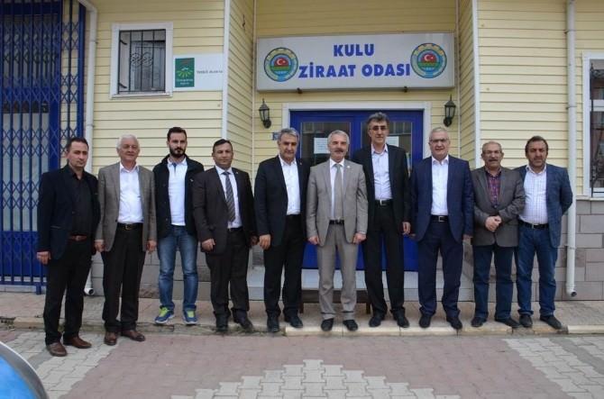 AK Parti Konya'da Seçim Çalışmaları Sürüyor