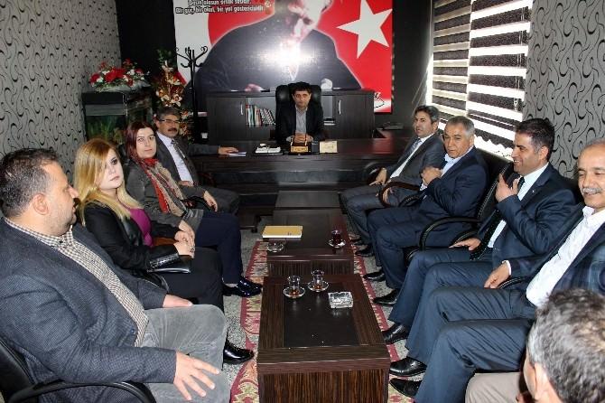 AK Parti Teşkilatından Ağad'a Ziyaret
