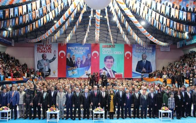 Ordu AK Parti'de Coşkulu Aday Tanıtım Toplantısı