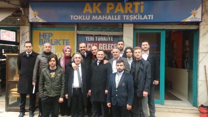 AK Parti Trabzon Milletvekili Adayı Muhammet Balta'ya Toklu Mahallesinde Büyük İlgi