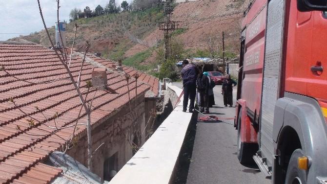 Aksaray'da Ev Yangını Korkuttu