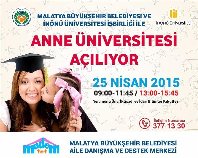 Anne Üniversitesi Açılıyor