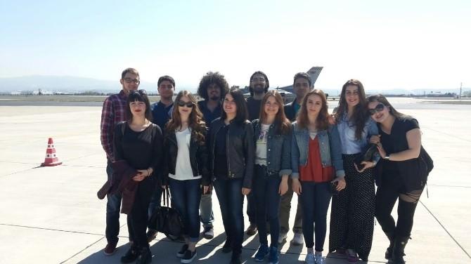 Efsane Pilot Havacılık Kulübü Öğrencileri İle Buluştu