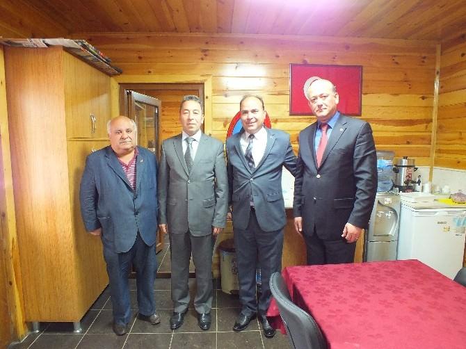 Emniyet Müdürü Aydoğdu'dan Şehit Ve Gaziler Derneği'ne Ziyaret