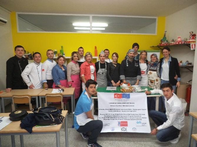 Mesleki Eğitim Merkezi Öğrencileri İtalya'da