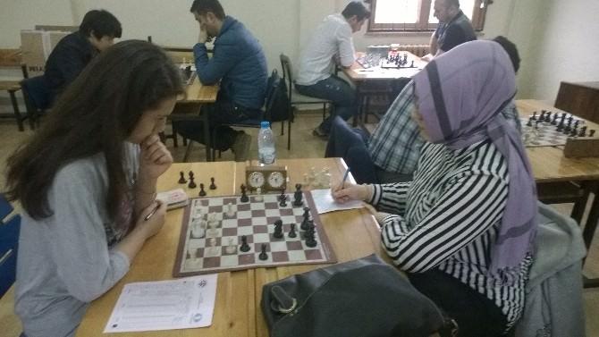 Bartın'da Elma Şekeri Satranç Turnuvası Sona Erdi