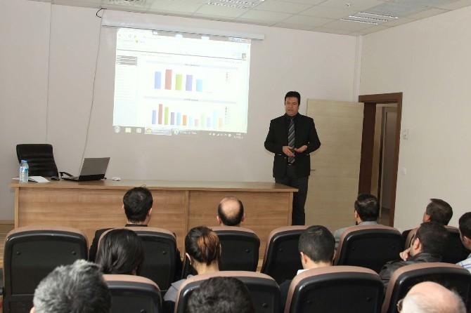Bitlis Eren Üniversitesi'nde Elektronik Talep Yönetim Sistemi Eğitimi
