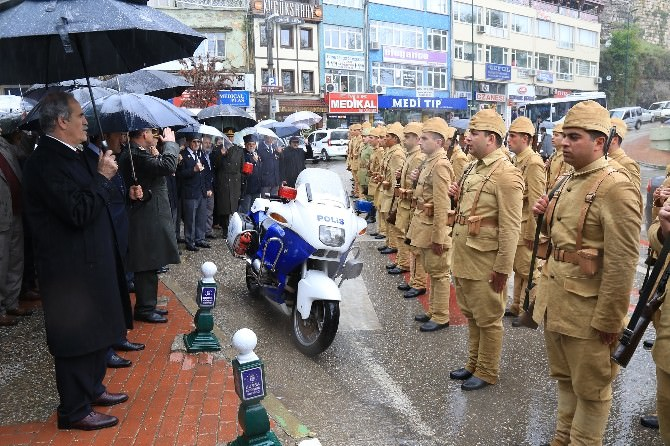 Seyyar Jandarma Taburu Dualarla Çanakkale'ye Uğurlandı