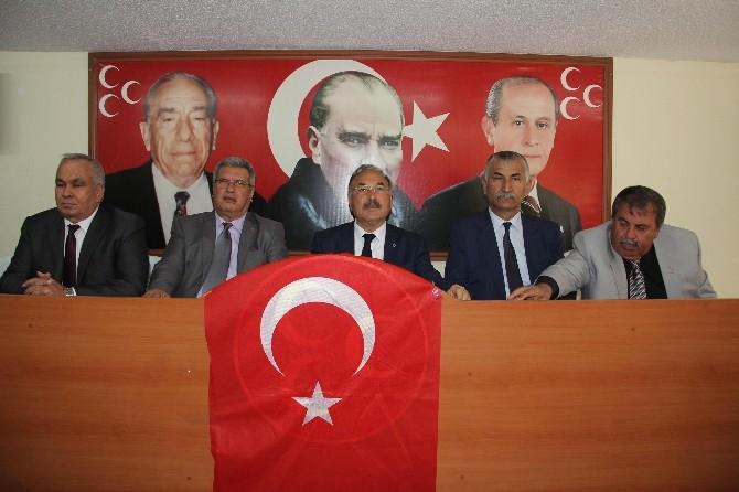 """MHP'li Tufan: """"CHP-ak Parti-hdp İttifakı Mersin'e Hizmeti Engelleyecek"""""""