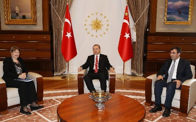 Cumhurbaşkanı Erdoğan, BM Kalkınma Programı Başkanı Clark'ı Kabul Etti