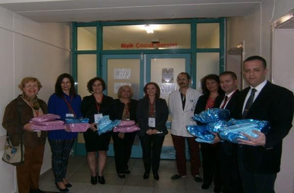 Kent Konseyi'nden ESOGÜ Hastanesi'nde Yatan Hasta Çocuklara Ziyaret